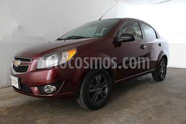 Foto venta Auto usado Chevrolet Aveo LS (2017) color Vino Tinto precio $134,999