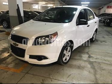 Foto venta Auto usado Chevrolet Aveo LS (2016) color Blanco precio $127,000