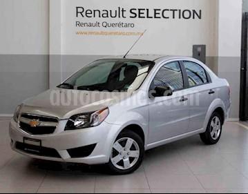 Foto venta Auto usado Chevrolet Aveo LS (2017) color Plata precio $120,000