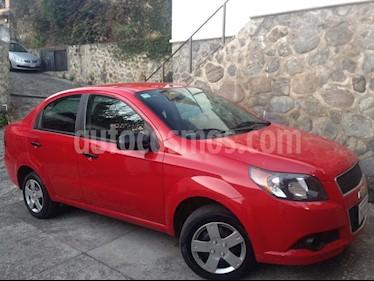 Foto venta Auto usado Chevrolet Aveo LS (2013) color Rojo precio $88,000