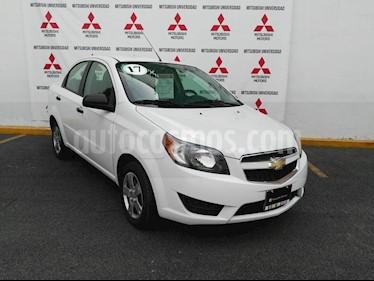 Foto venta Auto usado Chevrolet Aveo LS (2017) color Blanco precio $138,000