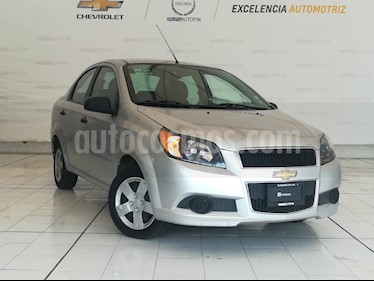 Foto venta Auto usado Chevrolet Aveo LS (2012) color Plata Brillante precio $93,000
