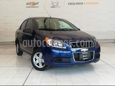 Foto venta Auto usado Chevrolet Aveo LS (2017) color Azul precio $129,000