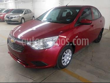 Chevrolet Aveo LS usado (2018) color Rojo precio $155,000