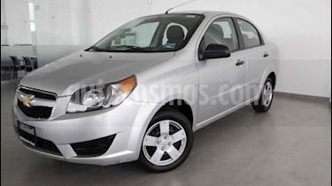 Foto venta Auto usado Chevrolet Aveo LS (2017) color Plata precio $129,000
