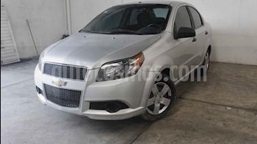 Foto venta Auto usado Chevrolet Aveo LS (2014) color Plata precio $115,000
