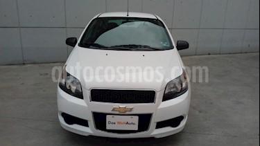 Foto venta Auto usado Chevrolet Aveo LS (2016) color Blanco precio $109,500