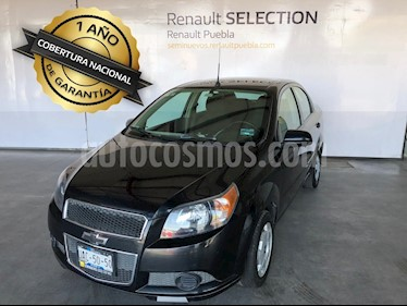 Foto venta Auto usado Chevrolet Aveo LS (2015) color Negro precio $130,000