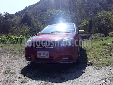 Foto venta Auto usado Chevrolet Aveo LS (2007) color Rojo precio $60,000