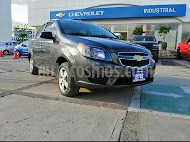 Foto venta Auto usado Chevrolet Aveo LS (2018) color Gris precio $162,000
