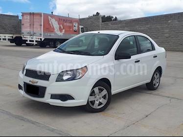 Foto venta Auto usado Chevrolet Aveo LS (2014) color Blanco precio $113,000