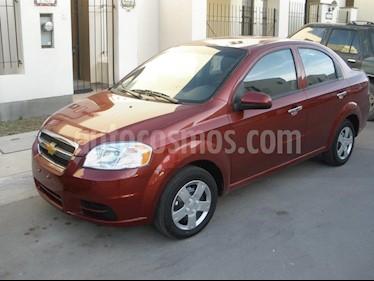 Chevrolet Aveo LS usado (2010) color Rojo precio $70,000