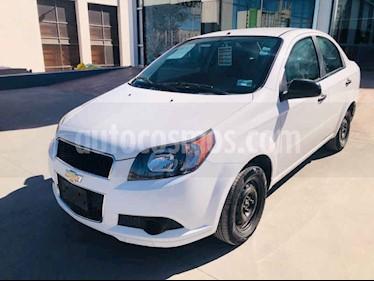 Foto venta Auto usado Chevrolet Aveo LS (2015) color Blanco precio $135,000