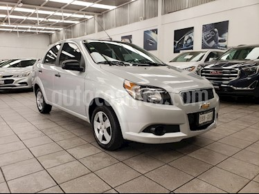 Foto venta Auto usado Chevrolet Aveo LS (2017) color Plata Brillante precio $160,000