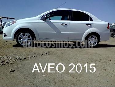 Foto venta Auto usado Chevrolet Aveo LS (2015) color Blanco precio $110,000