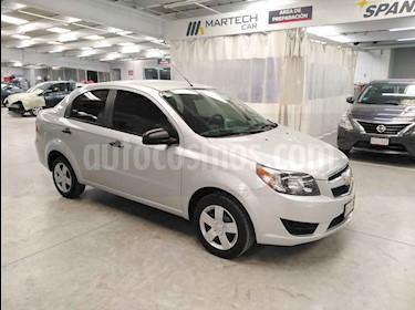 Foto Chevrolet Aveo LS usado (2017) color Plata precio $150,000