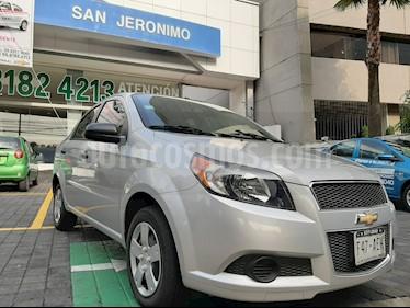 Foto Chevrolet Aveo LS usado (2016) color Plata precio $110,000
