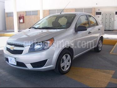 Foto venta Auto usado Chevrolet Aveo LS (2018) color Plata precio $144,900