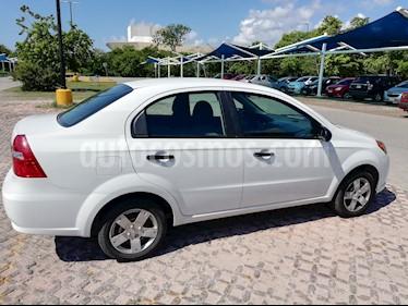 Chevrolet Aveo LS usado (2016) color Blanco precio $115,000