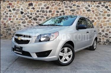 Foto venta Auto usado Chevrolet Aveo LS (2017) color Plata precio $137,000