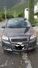 Foto venta Auto usado Chevrolet Aveo LS (2014) color Gris precio $95,000