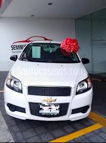 Foto venta Auto usado Chevrolet Aveo LS (2016) color Blanco precio $130,000