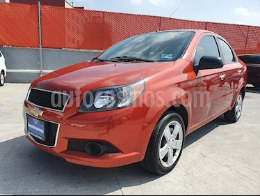 Foto venta Auto usado Chevrolet Aveo LS (2016) color Naranja precio $129,000