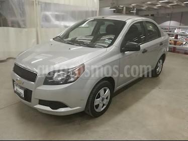 Foto venta Auto usado Chevrolet Aveo LS (2015) color Plata Brillante precio $118,000