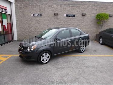 Foto venta Auto Seminuevo Chevrolet Aveo LS (2018) color Gris precio $178,000