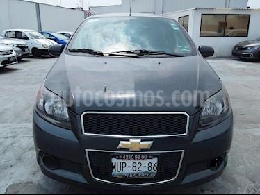 Foto venta Auto usado Chevrolet Aveo LS (2015) color Gris precio $107,000