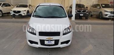 Foto venta Auto usado Chevrolet Aveo LS (2016) color Blanco precio $128,000