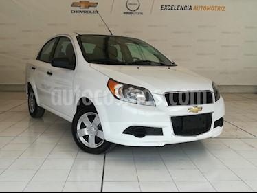 Foto venta Auto usado Chevrolet Aveo LS (2017) color Blanco precio $145,000