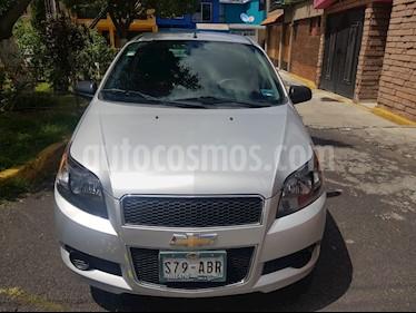 Chevrolet Aveo LS usado (2015) color Plata Brillante precio $95,000