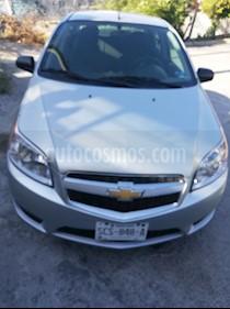 Foto venta Auto usado Chevrolet Aveo LS (2017) color Plata precio $115,000