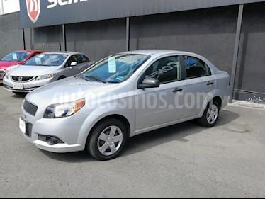 Foto venta Auto usado Chevrolet Aveo LS (2015) color Plata precio $118,000