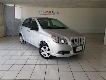 Foto venta Auto usado Chevrolet Aveo LS (2014) color Plata precio $109,900