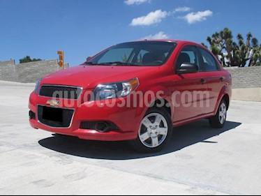 Foto venta Auto usado Chevrolet Aveo LS (2015) color Rojo Victoria precio $127,000