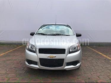 Foto venta Auto usado Chevrolet Aveo LS (2016) color Plata precio $88,300