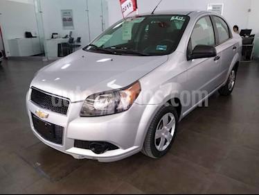 Foto venta Auto usado Chevrolet Aveo LS (2016) color Plata precio $119,000