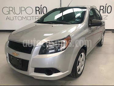 Foto venta Auto usado Chevrolet Aveo LT (Nuevo) (2017) color Plata precio $138,000