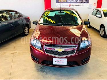Foto venta Auto usado Chevrolet Aveo LT (Nuevo) (2017) color Rojo precio $145,000