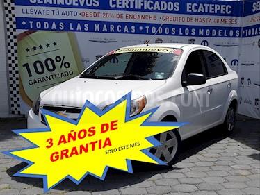 Foto Chevrolet Aveo LT (Nuevo) usado (2017) color Blanco precio $159,000