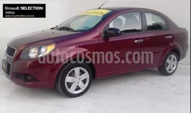 Foto venta Auto usado Chevrolet Aveo LT Aut (2013) color Vino Tinto precio $98,000