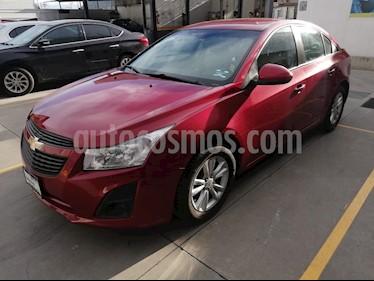 Foto venta Auto usado Chevrolet Aveo LT Aut (2013) color Rojo Metalizado precio $150,000