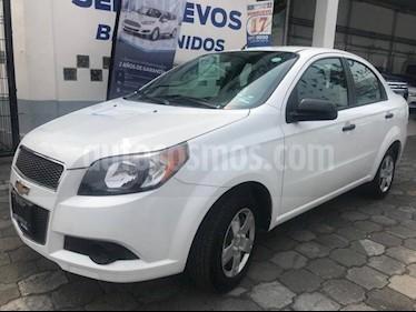 Foto venta Auto usado Chevrolet Aveo LT Aut (2017) color Blanco precio $145,500