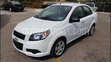 Foto venta Auto usado Chevrolet Aveo LT Aut (2017) color Blanco precio $129,900