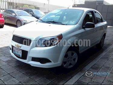 Foto venta Auto usado Chevrolet Aveo LT Aut (2015) color Blanco precio $125,000