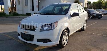Foto venta Auto usado Chevrolet Aveo LT Aut (2017) color Blanco precio $114,900