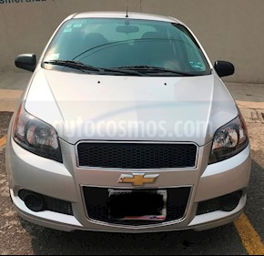 Chevrolet Aveo LT Aut usado (2016) color Plata Brillante precio $119,000