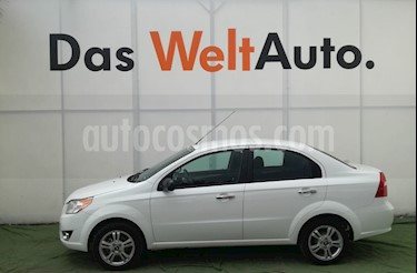Foto venta Auto usado Chevrolet Aveo LT Aut (2017) color Blanco precio $175,000